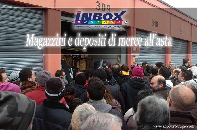 InBox Storage - Asta del 16/12/2014 a Ravenna