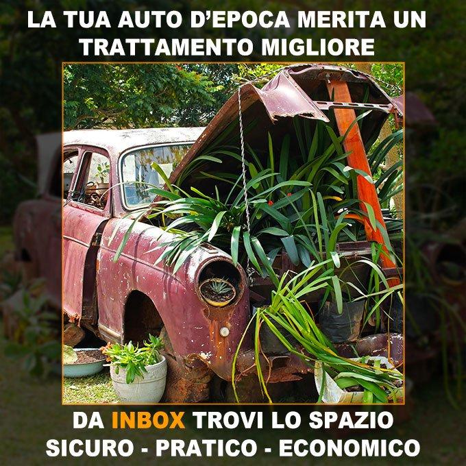 InBox - Perfetta per la tua auto o moto d'epoca