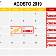 InBox Storage - Orari degli uffici ad agosto
