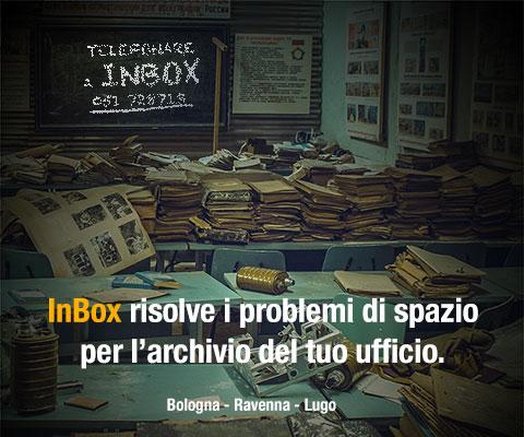 InBox risolve i problemi di spazio per l'archivio del tuo ufficio