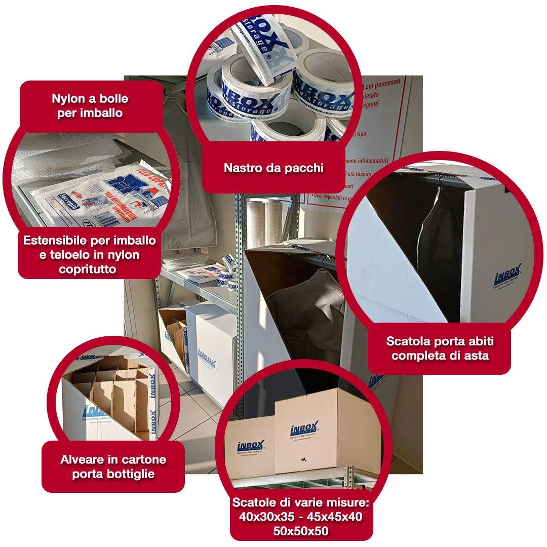 InBox - Tanti accessori per conservare i tuoi oggetti